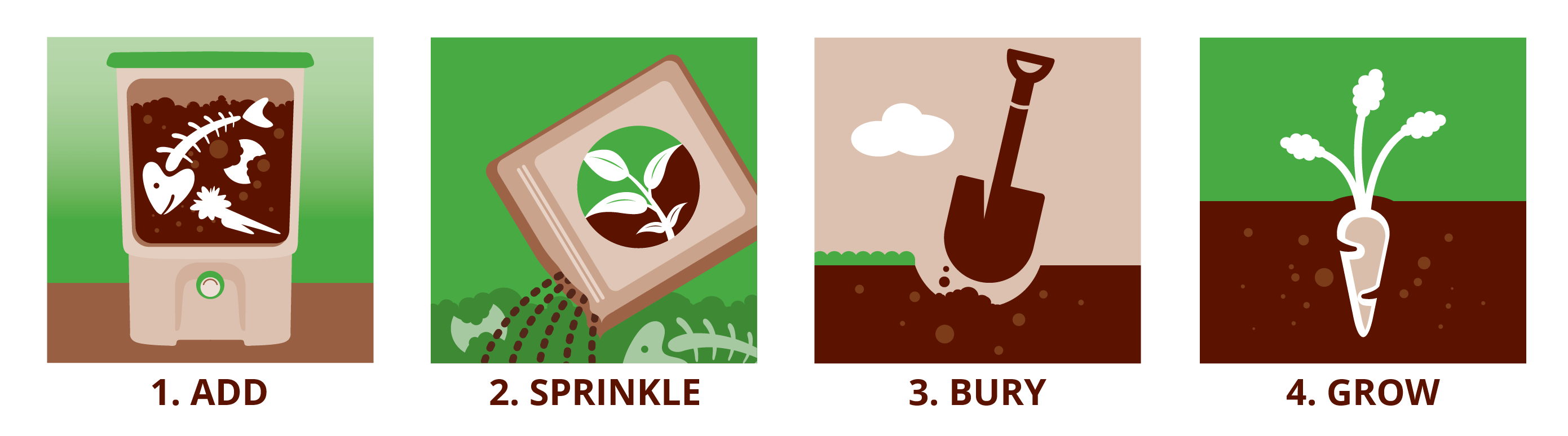 How to bokashi compost: 4 simple steps