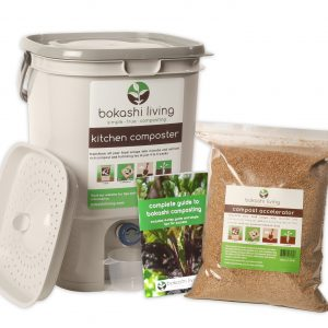 Bokashi Composting starter kit: 1 bin