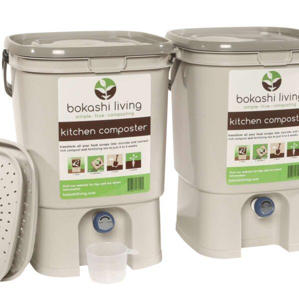 Bokashi bucket (2 pack)