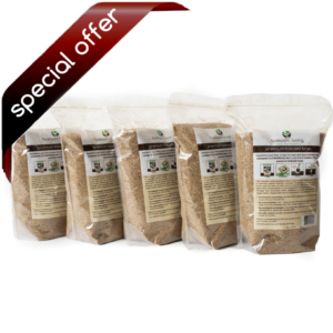 Premium Bokashi Bran (5 bag) (special offer)