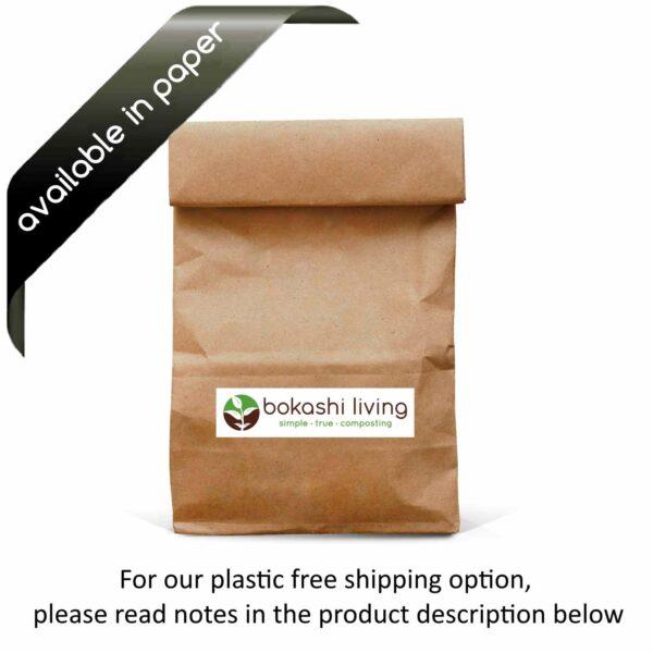 Plastic free bokashi bran