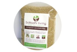 Bag of bokashi bran