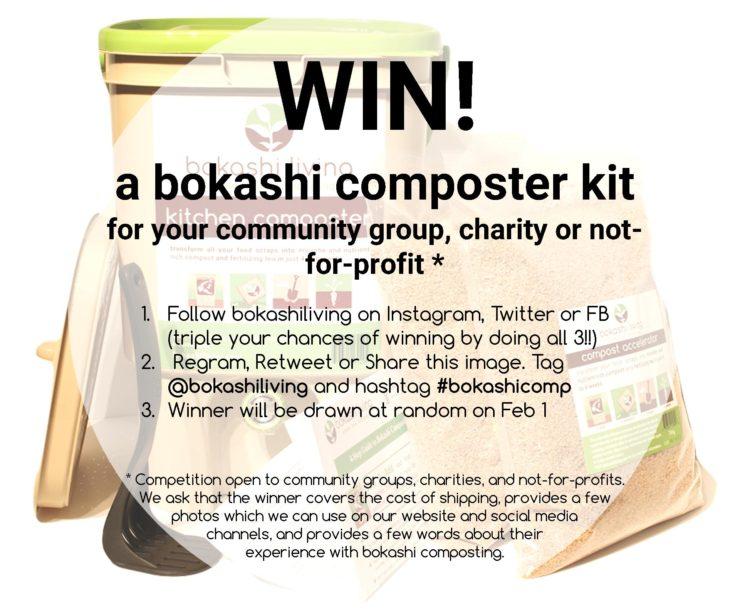 Win a bokashi compsoter kit